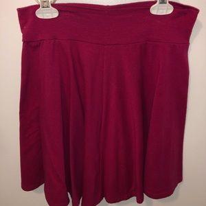 Pink Stretch Skirt